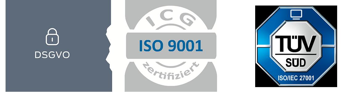 DSGVO ISO9001 ISO27001